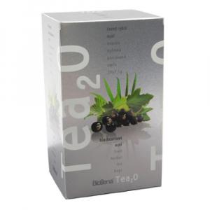 BIOGENA Ovocný čaj Tea2O Černý rybíz & Acai 20x2,5 g