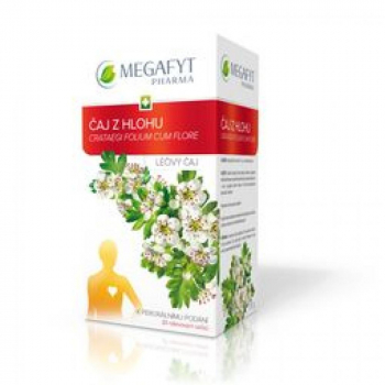 MEGAFYT Léčivý čaj z hlohu 20 x 1,5 g