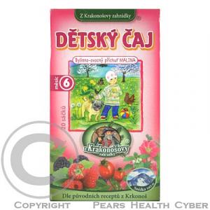 Čaj Z Krakonošovy Zahrádky dětský Ovocno-bylinný