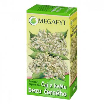 ČAJ Z KVĚTU BEZU ČERNÉHO  20X1.5GM Léčivý čaj