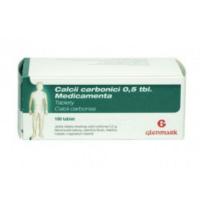 CALCII CARBONICI MEDICAMENTA 0.5 g 100 tablet