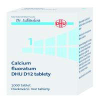 DR. SCHÜSSLERA Calcium fluoratum DHU D12 No.1 1000 tablet