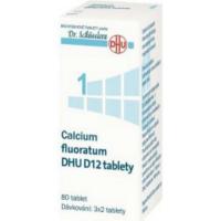 DR. SCHÜSSLERA Calcium fluoratum  DHU D12 No.1 80 tablet