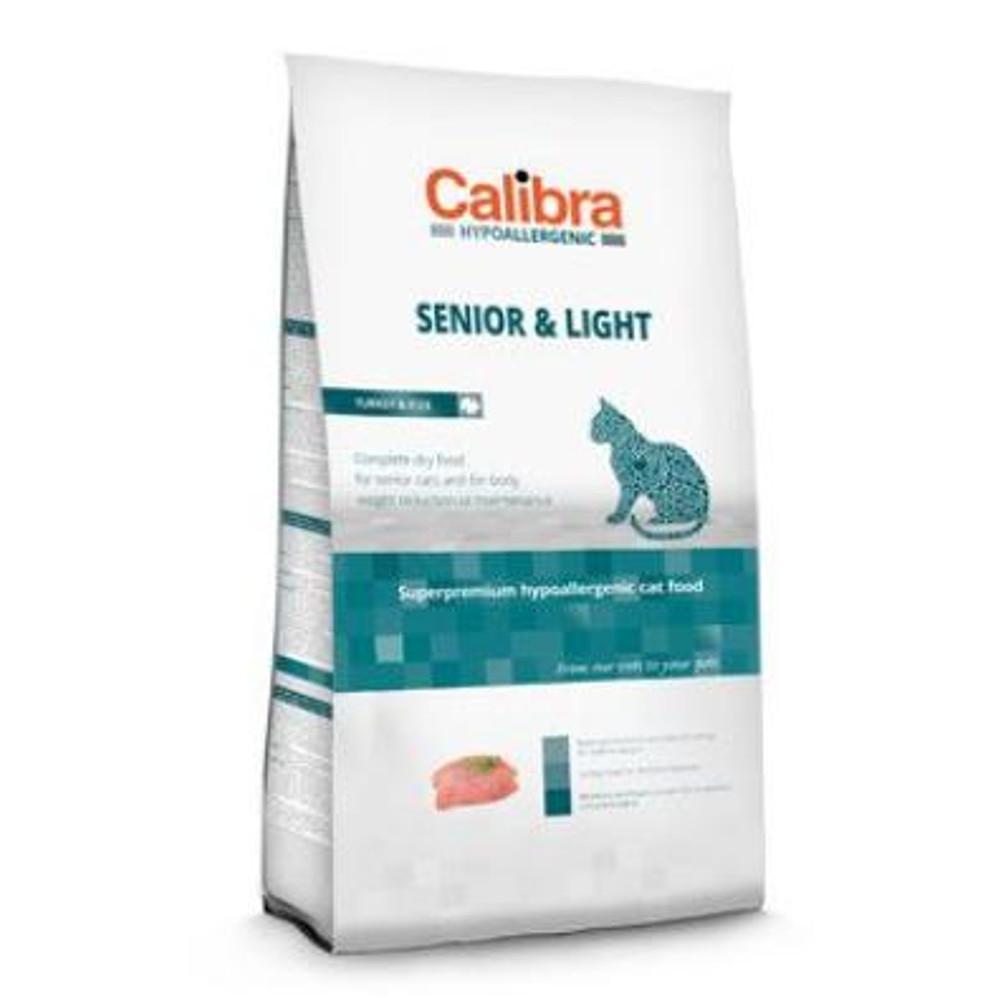 CALIBRA SUPERPREMIUM Cat HA Senior & Light Turkey 2 kg