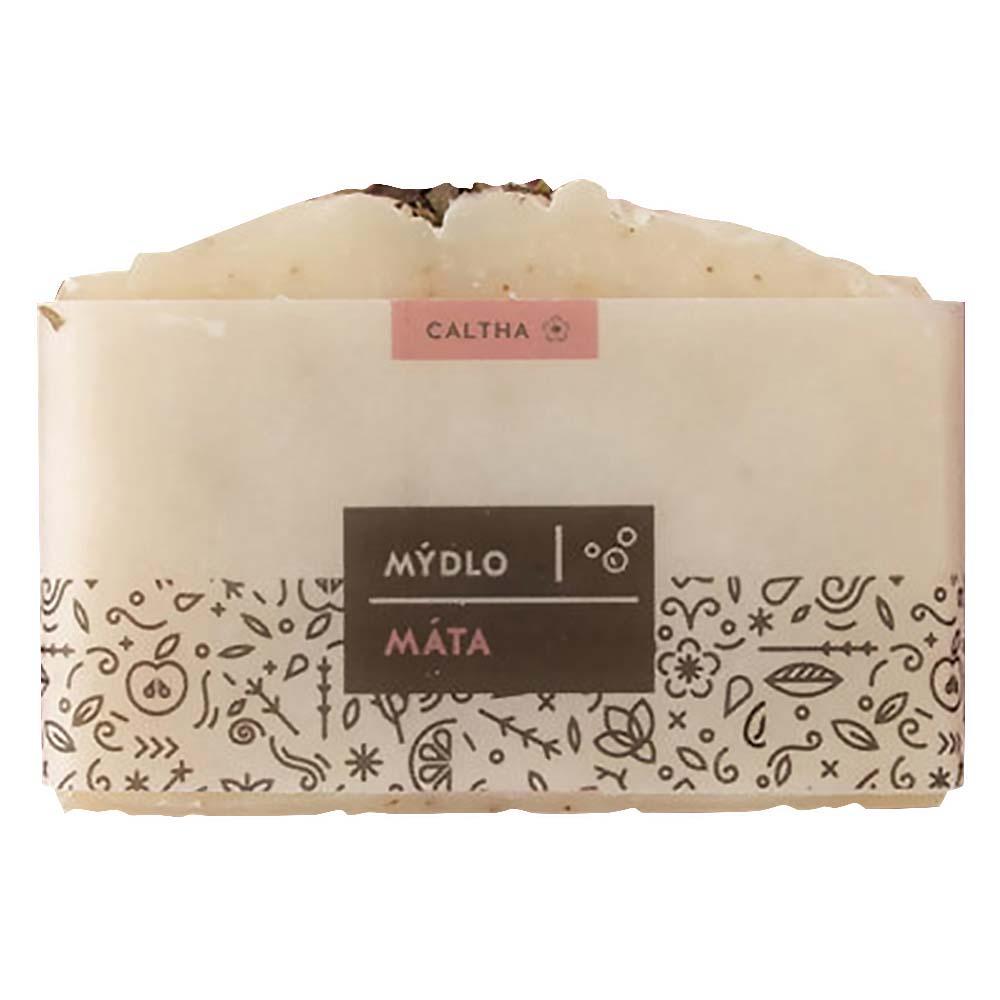 CALTHA Bylinné tuhé mýdlo Máta 100 g