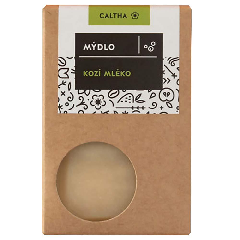 CALTHA  Tuhé mýdlo s kozím mlékem 100 g