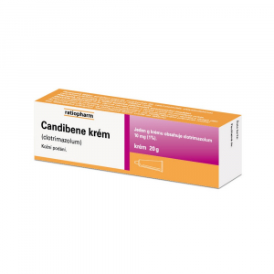 CANDIBENE Krém proti infekcím 10 mg 20 g