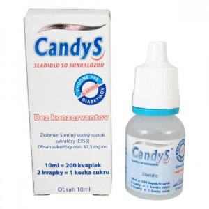 CANDYS Sladidlo se sukralózou 10 ml