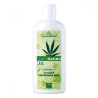 CANNADERM Natura Šampon na suché poškozené vlasy 200 ml