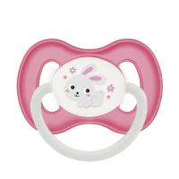 CANPOL BABIES Dudlík kaučukový třešinka BUNNY&COMPANY 6-18m růžový