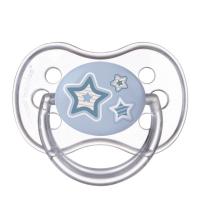 CANPOL BABIES Dudlík silikonový symetrický NEWBORN BABY 18+m modrý