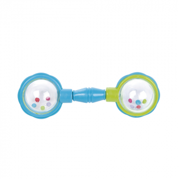 CANPOL BABIES Chrastítko míčky modré