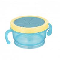 CANPOL BABIES Miska s víčkem a silikonovým otvorem HELLO LITTLE 200 ml