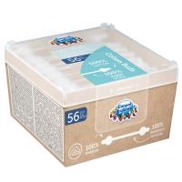 CANPOL BABIES Vatové tyčinky s omezovačem papírové 56 ks