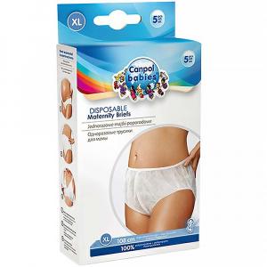 CANPOL BABIES Jednorázové mateřské kalhotky vel. L/XL 9600 5 ks