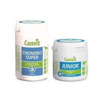 CANVIT Chondro Super 230 g + CANVIT Junior pro psy 100 g