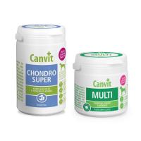 CANVIT Chondro Super 230 g + Multi pro psy 100 g
