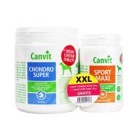 CANVIT Chondro Super 500g+Canvit Sport Maxi 230g