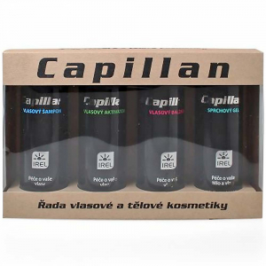 CAPILLAN Dárková sada 4x200 ml aktivátor + šampon + balzám + sprchový gel