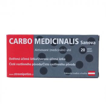 SANOVA Carbo Medicinalis 20 tablet