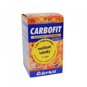 DACOM PHARMA Carbofit 60 rostlinných tobolek