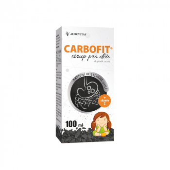 CARBOFIT Sirup pro děti 100 ml