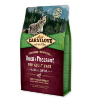 CARNILOVE Cat Duck&Pheasant Adult Hairball Contr 2 kg