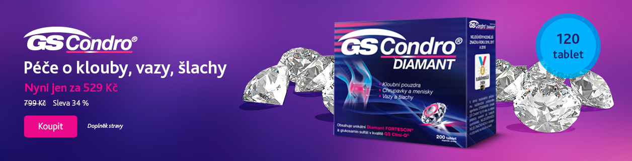 GS Condro Diamant se slevou