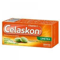 CELASKON Limetka žvýkací tabletky 30 tablet