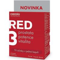 CEMIO RED3 Prostata, vitalita, potence 30 kapslí