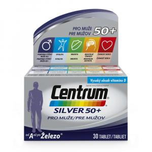 CENTRUM Silver pro muže nad 50 let 30 tablet