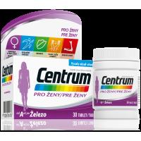 CENTRUM Multivitamín pro ženy 30 tablet