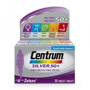 CENTRUM Silver pro ženy nad 50 let 30 tablet