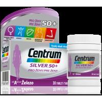 CENTRUM Multivitamín pro ženy 50+ 30 tablet