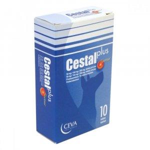 CEVA Cestal Plus Flavour 50mg/144mg/200mg 10 tablet