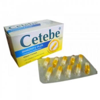 Cetebe Immunity plus - vitamin C + Zinek 30 kapslí
