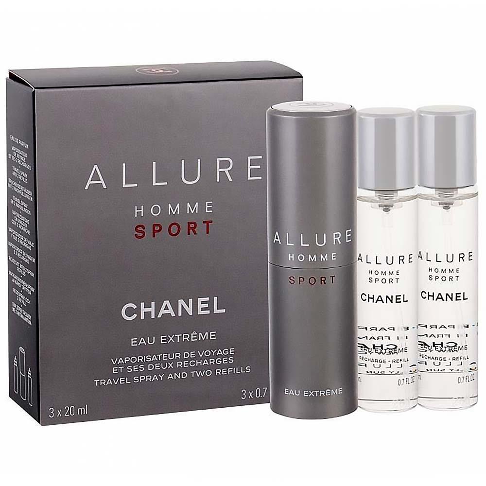 CHANEL Allure Homme Sport Eau Extreme Toaletní voda 3x 20 ml