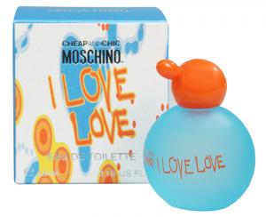 Moschino I Love Love Toaletní voda 4,9 ml