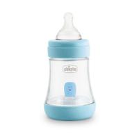 CHICCO Láhev kojenecká Perfect 5 silikon Chlapec 150 ml