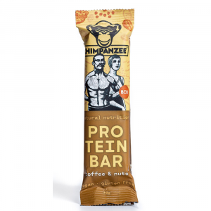 CHIMPANZEE Protein bar coffee & nuts 40 g BIO