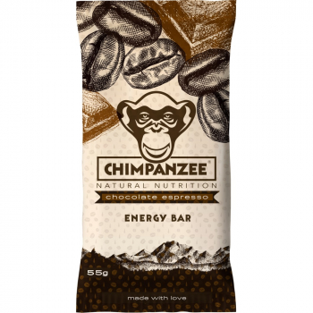CHIMPANZEE  ENERGY BAR Chocolate Espresso 55g