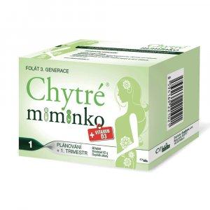 ONAPHARM Chytré miminko methylfolát 1 + vitamin D3 60 tablet