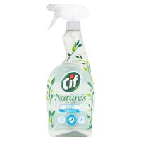 CIF Nature Čistící sprej Koupelna 750 ml