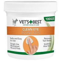 VET´S BEST Čisticí utěrka na oči pro psy 100 ks