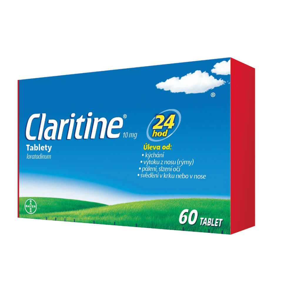 Levně CLARITINE 10 mg 60 tablet