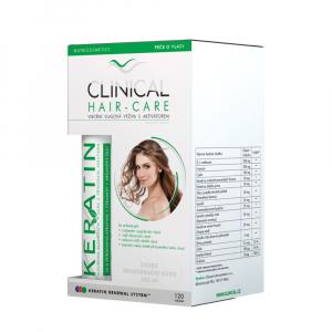 CLINICAL Hair-Care 120 tobolek + keratin 100 ml 4 MĚSÍČNÍ kúra