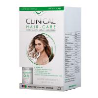 CLINICAL HAIR-CARE 60+30 tobolek + Arganový olej 20 ml ZDARMA
