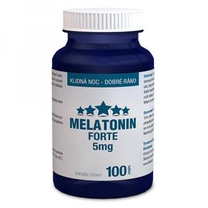 CLINICAL Melatonin Forte 5 mg 100 tablet