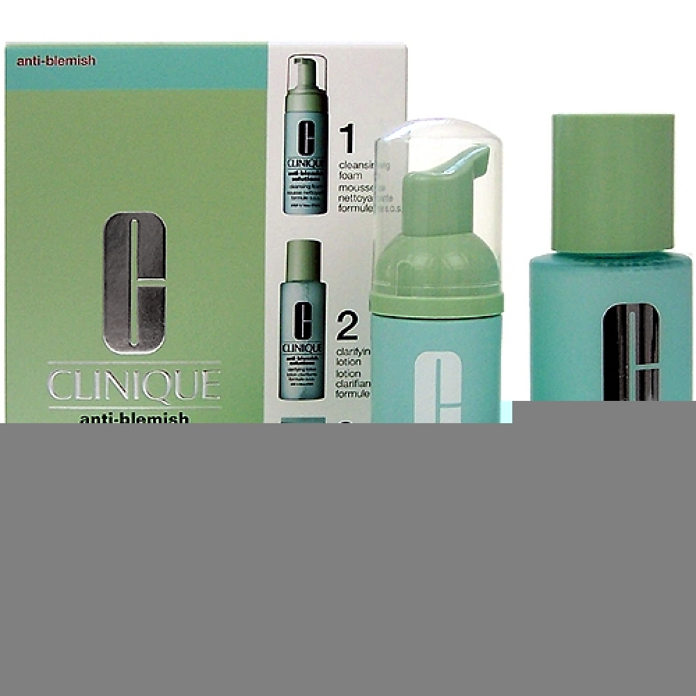Clinique Anti-Blemish Solutions 3-Step System  180ml 50ml Anti-blemish Solutions