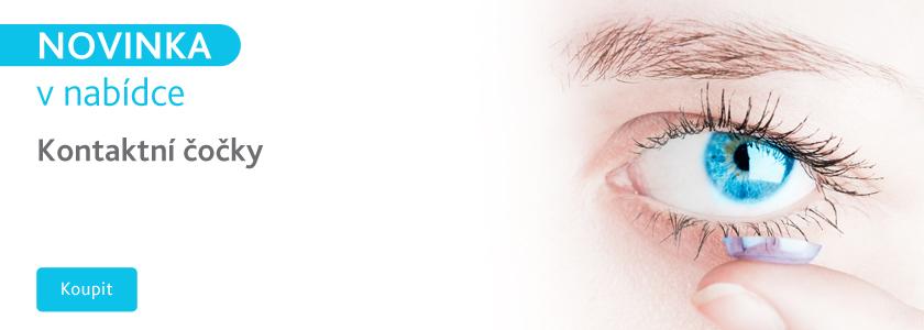 Novinka kontaktní čočky